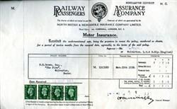 Motor Insurance Certificate.