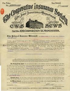 Fire Insurance Certificate.