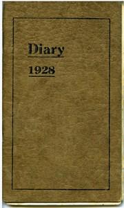 Pocket Diary 1928.