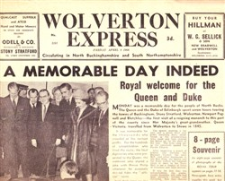 Wolverton Express, Friday 8th April 1966.