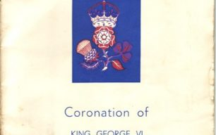 Wolverton celebration of the coronation of King George VI and Queen Elizabeth.