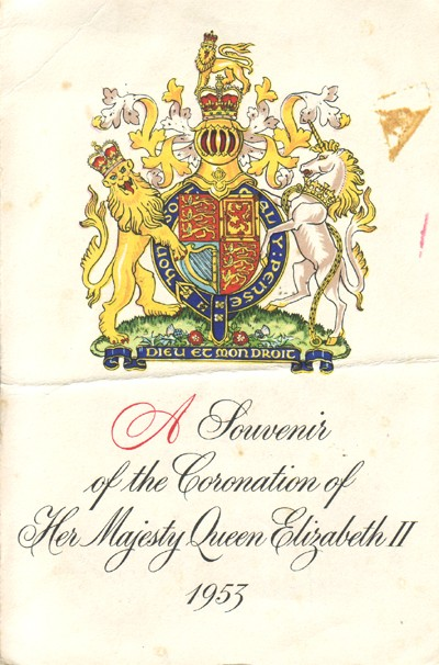 A Souvenir of the Coronation of Her Majesty Queen Elizabeth II.