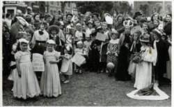 Children in fancy dress.