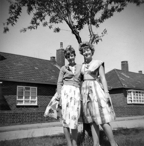 Marguerite and Beverley Taylor.