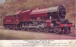 The Royal Scot train.