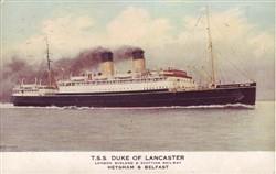 The TSS Duke of Lancaster.