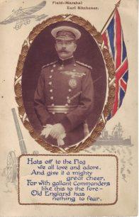 Field Marshall Earl Kitchener.