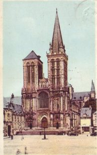 Deauville cathedral.