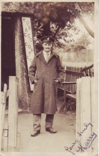 Harry in his WW1 uniform.