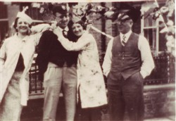 The Taylor family in Church Street.
