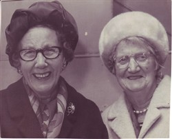 Rosie May and Lou Taylor.