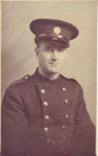 Jack Taylor in uniform.