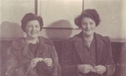Beryl Brown and Vera Haycock.