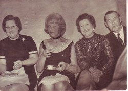 Beryl and Frank and friends.