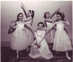 Bernice at the Rosemary Carter School of dancing.
