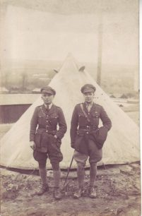 2 men in uniform.