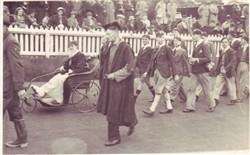 A parade at Wolverton.