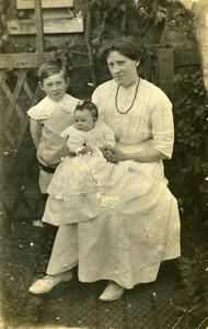 Blanche Florence May Brown (née Wildman).