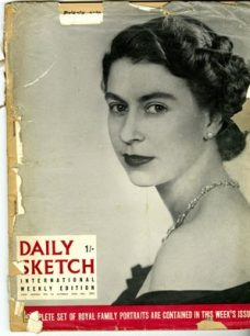 Daily Sketch International Weekly Edition.