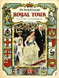 Daily Telegraph Royal Tour Picture Supplement.