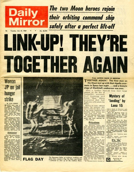 Issue of the Daily Mirror.