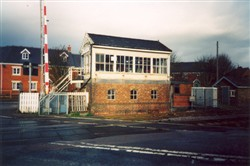 Woburn Sands Signal box.  (Accession Ref: WLM/071).