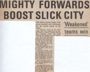 Photograph and articles: MK City -vs-Stevenage