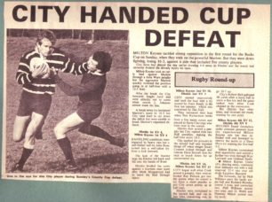 'City handed cup defeat';