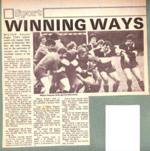 'Winning ways'; untitled cutting