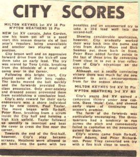 'City Scores'