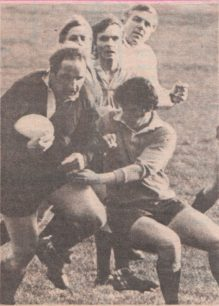 Action photograph: Northampton Casuals  v  Milton Keynes 1st XV
