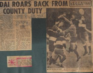 'Dai Roars Back From County Duty'