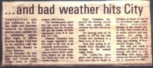 'Scouts Skittle City'; 'Milton Keynes also hit by the weather'.