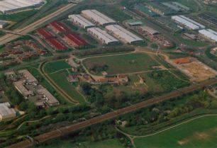 View of Bradwell Abbey