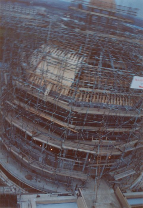 Construction of City Church   Bob Hill