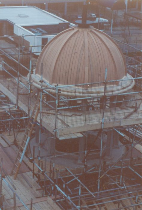 Completion of dome of City Church | Bob Hill