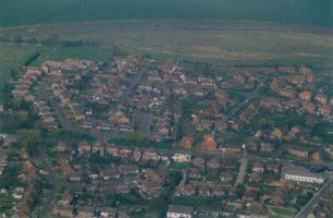 View of housing estates