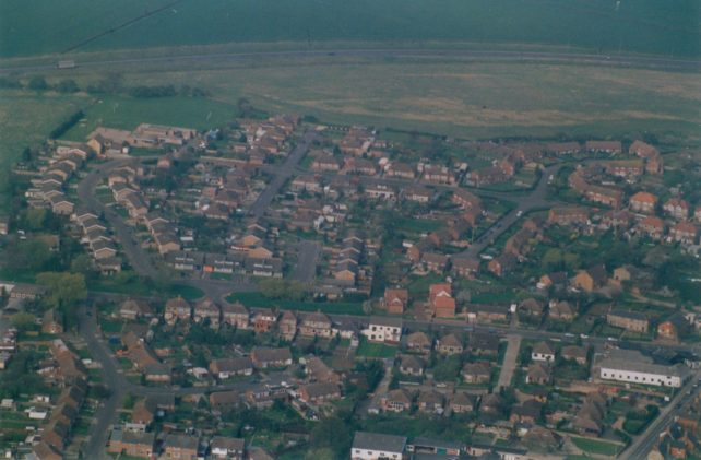 View of housing estates