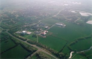 Aerial view of Hoechst at Walton Manor