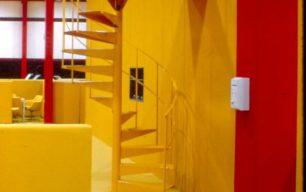 Wavendon Advanced Factory Unit central staircase