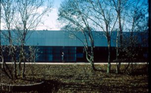 External view of the Advanced Factory Unit in Water Eaton