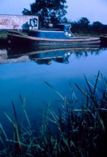 Grand Union Canal Barge