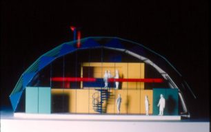 Model of Wolverton Sports Club