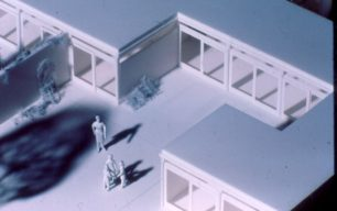 Tinkers Bridge Marsworth House model detail