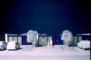 Experimental Housing Detail Model