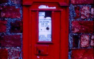 Willen Church Wall Post Box