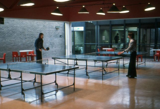 Table-tennis at Bletchley Leisure Centre