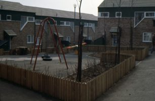 A park in a housing estate