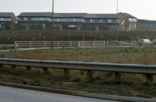 Edge of Eaglestone housing estate.
