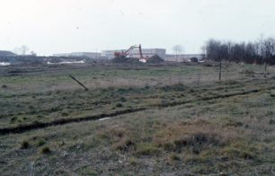 A building site in the early stages